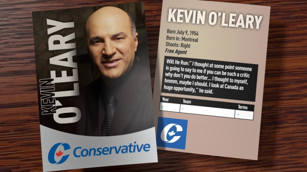 kevin o'leary for conservative party