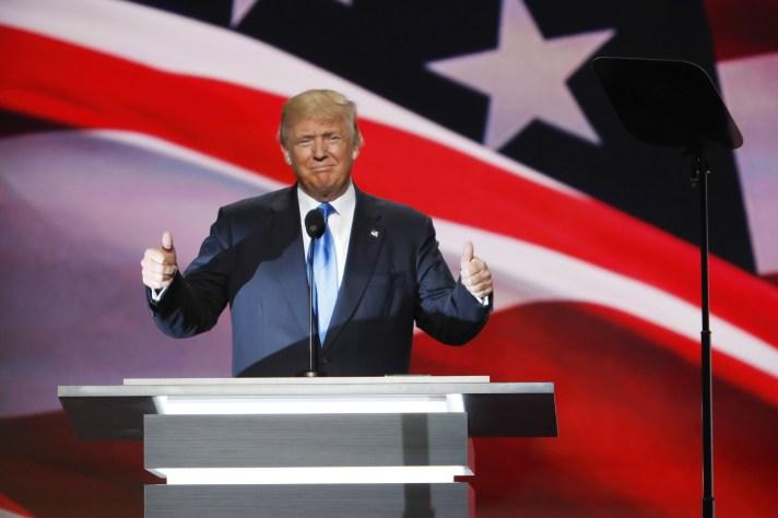 RNC Day 1 - Donald Trump
